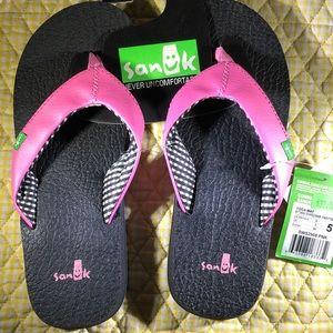 Sanuk Yoga Mat Flip Flops NEW NWT Pink 🌸